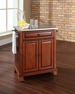 Newport Portable Kitchen Island in Cherry - Crosley - KF30022CCH