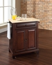 Newport Portable Kitchen Island in Mahogany - Crosley - KF30021CMA