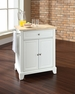 Newport Portable Kitchen Island in White - Crosley - KF30021CWH