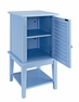 Ocean Blue Shutter Door Table - Powell - 254-351