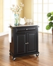 Portable Kitchen Cart/Island in Black - Crosley - KF30022EBK