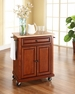 Portable Kitchen Cart/Island in Cherry - Crosley - KF30021ECH