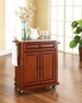 Portable Kitchen Cart/Island in Cherry - Crosley - KF30022ECH
