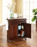 Portable Kitchen Cart/Island in Mahogany - Crosley - KF30022EMA