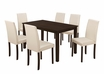 """Rectangle Dining Table (32""""X 55"""") in Cappuccino Veneer - Monarch - I 1179"""