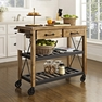 Roots Rack Industrial Kitchen Cart - Crosley - CF3008-NA