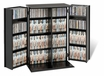 Small Locking Media Storage Cabinet in Black - PREPAC - BVS-0136