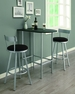 Space Saver Bar Table Black - Monarch - I 2335