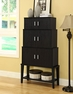 Stacking Storage Cabinet Cappuccino - Monarch - I 2547