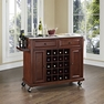Stainless Kitchen Cart in Mahogany - Crosley - KF31002EMA