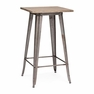 Titus Bar Table Rustic Wood - ZUO - 601188