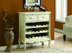 Traditional Wine Chest White - Monarch - I 3883