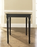 Turned Leg Pub Table in Black - Crosley - KD20003BK