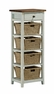Tuscan Retreat � 4 Basket, 1 Drawer Open Side Stand - Hillsdale - 5362-942W