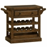 Tuscan Retreat � Drink Trolley Cart w/ Granite Top and Casters - Hillsdale - 5225-892W