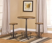 Westview Bar Height Bistro w/ Rivage Stools - Hillsdale - 5441PTBR