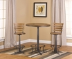 Westview Bar Height Bistro w/ Westview Stools - Hillsdale - 5441PTBW