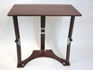 Wooden Folding Laptop Desk/Tray in Mahogany - Spiderlegs - LD1527-M