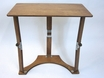 Wooden Folding Laptop Desk/Tray in Walnut Oak - Spiderlegs - LD1527-WO