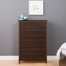 Yaletown 4-Drawer Chest, Espresso - PREPAC - EDBR-1203-1