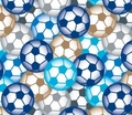 Soccer Fleece - Soccer Fleece Fabric - Soccer Fleece Material By the Yard - Soccer Blankets