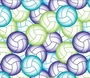 Volleyball Fleece - Volleyball Fleece Fabric - Volleyball Fleece Material - Volleyball Blankets