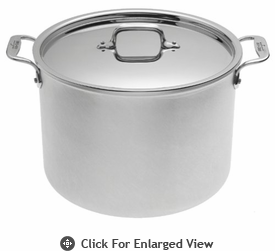 All-Clad Master Chef 2 12 Qt. Stockpot with Lid
