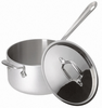 All-Clad Master Chef 2 3.5 Qt. Sauce with Lid and Loop