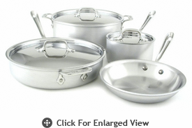 All-Clad MC2 7 Piece Cookware Set