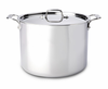 All-Clad New Stainless 12 qt Stockpot w/ Lid