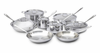 All-Clad New Stainless 14 Piece Cookware Set