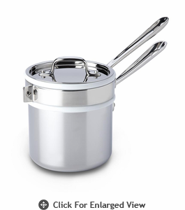 All-Clad New Stainless 2 qt Sauce Pan w/ Double Boiler