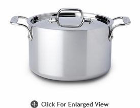 All-Clad New Stainless 4 qt Casserole w/ Lid