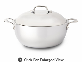 All-Clad New Stainless 5 qt Dutch Oven w/ Domed Lid