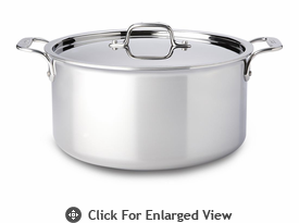 All-Clad New Stainless 8 qt Stockpot w/ Lid