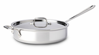 All-Clad  New Stainless  Saute Pans