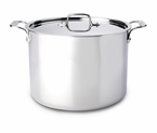 All-Clad  New Stainless  Stock Pots
