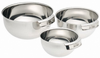All-Clad Stainless 3 Piece Mixing Bowl Set