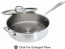 All-Clad Stainless 3 Qt Sauté Pan w/ Lid