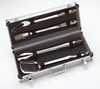 All-Clad Stainless BBQ Tool Set w/ Carrying Case