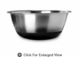 Amco Houseworks 2Qt Black Silicone Bottom Bowl