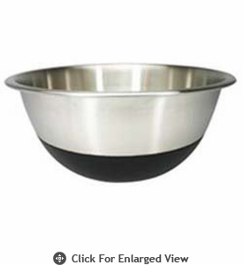 Amco Houseworks 6.5Qt Black Silicone Bottom Bowl