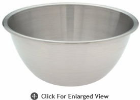 Amco Houseworks Bowl Mixing 9 Qt Stainless Steel Deep