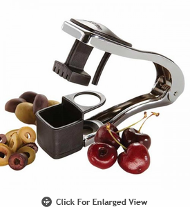 Amco Houseworks Cherry & Olive Pitter/Slicer