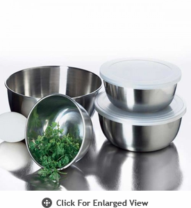 Amco Houseworks Prep Bowls Set of 4