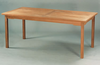 Anderson Genuine Teak Garden Furniture Bahama Rectangular Dining Table Non Folding Table