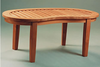 Anderson Genuine Teak Garden Furniture Kidney Table Non Folding Table