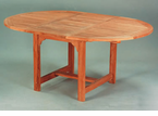 Anderson Genuine Teak  Garden Furniture  Oval Extension Tables