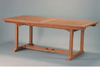 Anderson Genuine Teak  Garden Furniture  Rectangular Extension Tables