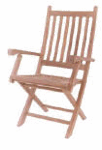 Anderson Teak   Garden Furniture   Folding Chairs